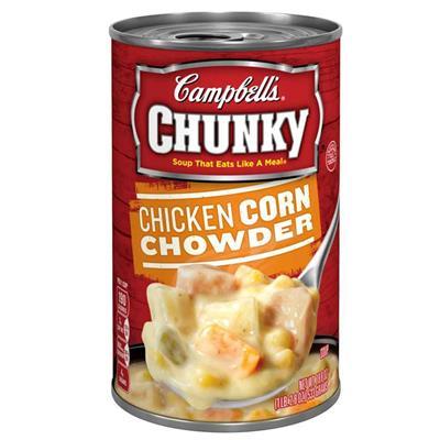 美式賣場Campbells 金寶 雞肉玉米濃湯 5