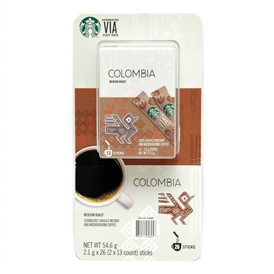 美式賣場 星巴克VIA即溶研磨咖啡26入