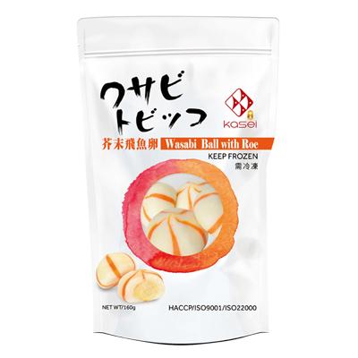 芥末飛魚卵(160g/包)