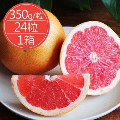 台灣爆汁紅肉葡萄柚(350g*24粒/箱)