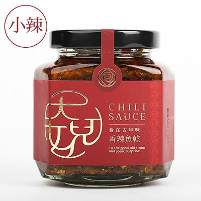 香辣魚乾(小辣)(195g±5g/罐)