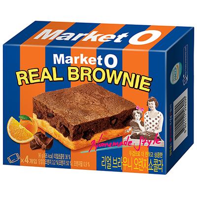 布朗尼蛋糕柳橙風味(96g/盒)