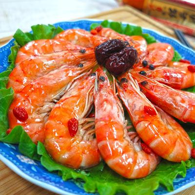 鴻運紹興醉蝦(810g/包)