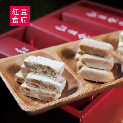 團圓伴手禮盒(娃娃酥心糖*1+花生牛軋糖*2)