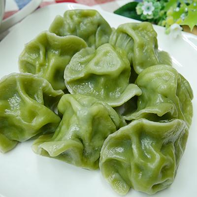 菠菜皮韭菜水餃(鮮肉口味)(20顆)/包)
