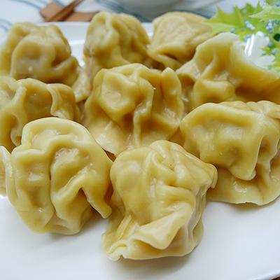 南瓜皮玉米水餃(鮮肉口味)(20顆)/包)