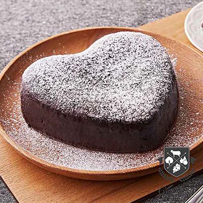 75%特濃皇家布朗尼蛋糕(6吋/盒)