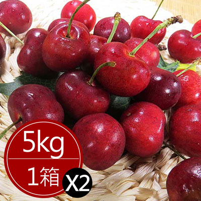 智利櫻桃超大P級(5公斤)*2箱