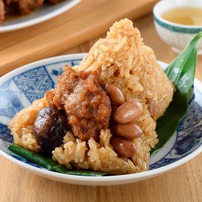 排骨酥肉粽(170g±4.5%/粒,共3粒)