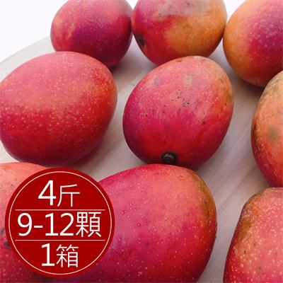 枋山愛文芒果(4斤/9~12顆)*1箱