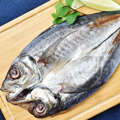 台灣鮮撈竹莢魚一夜干180g±10%/尾