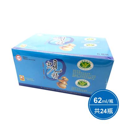 原味蜆精24瓶(62ml*6瓶*4組)