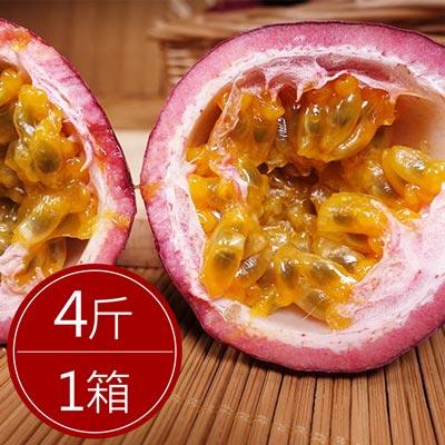 清爽鮮甜埔里百香果(4斤)*1箱