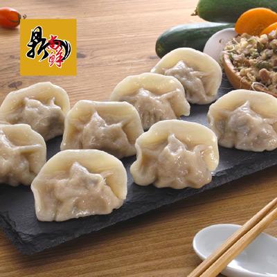 香菇瓜仔雞肉水餃(490g/包(20顆入)