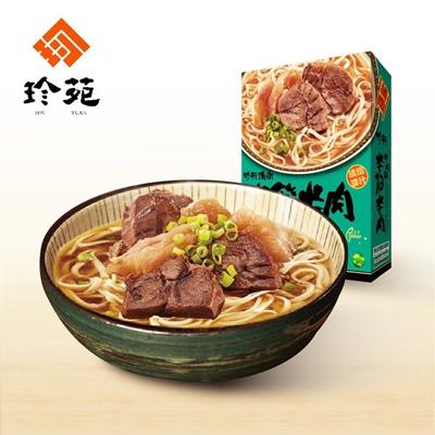 清燉半筋牛肉麵(常溫)(530g/份,共2份)