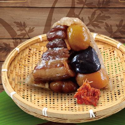 XO醬風味肉粽-北部粽(160g*5顆/盒)