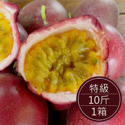 南投埔里 自然農法百香果(特級)(10斤/箱)