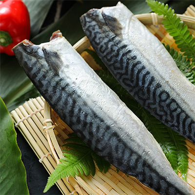 挪威薄鹽鯖魚片(180g± 10%/包)