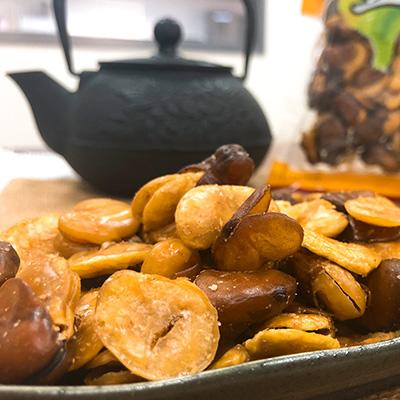 蒜味蠶豆(220g*12包)