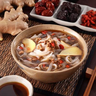 枸杞藥膳調理餐包+蒟蒻麵(340g/組)