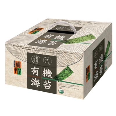 橘平屋買一送一,橘平屋有機韓式海苔禮盒(24包/盒)
