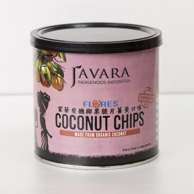 买一送一,有机椰果脆片姜黄味(100g/罐)