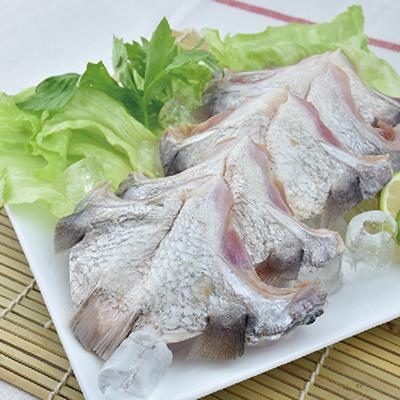買一送一,金目鱸魚下巴(生)(300g±10%/包
