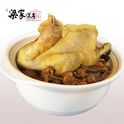 養生巴西蘑菇土雞湯(3000g/包)
