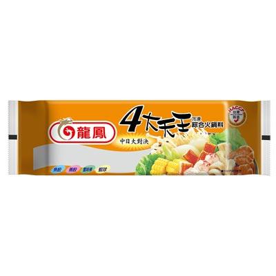 中日式四大綜合火鍋料(354g/包)-贈芋頭冰棒