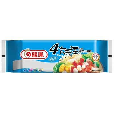四大天王冷凍日式火鍋料(373g/包)-贈芋頭冰棒