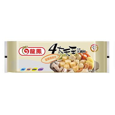 四大天王蛋腸燒組合包(330g/包)-贈芋頭冰棒